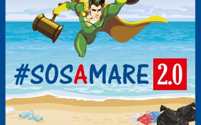 """#SOSAMARE 2.0 approda sul litorale romano, U.Di.Con.: """"Lieti di contribuire a ripulire la nostra costa"""""""